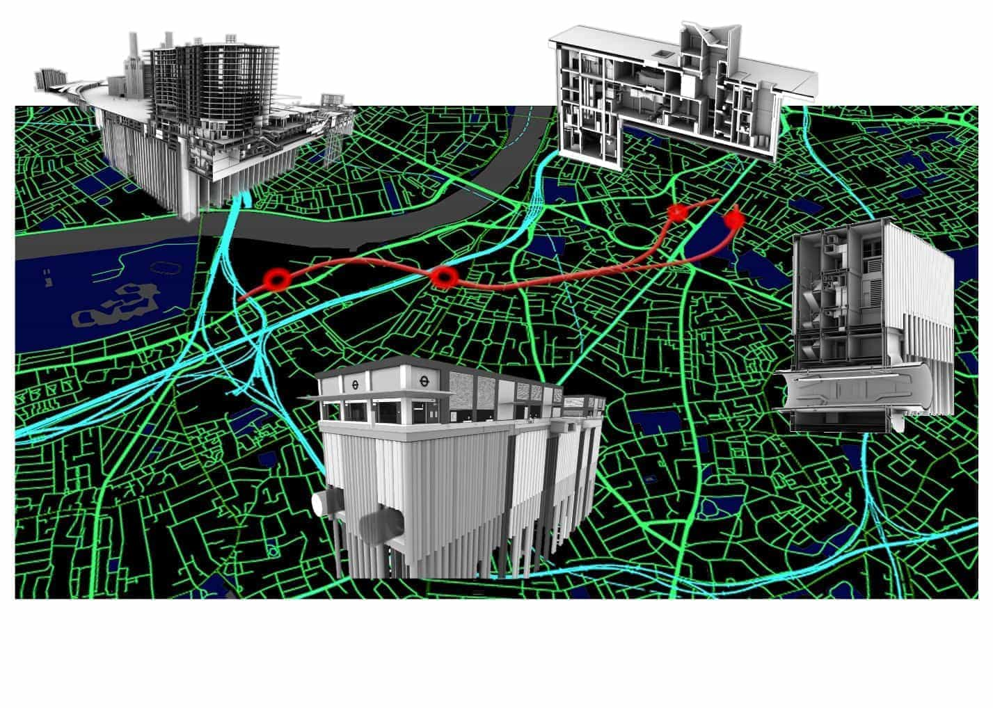 BIM in construction northern line extension