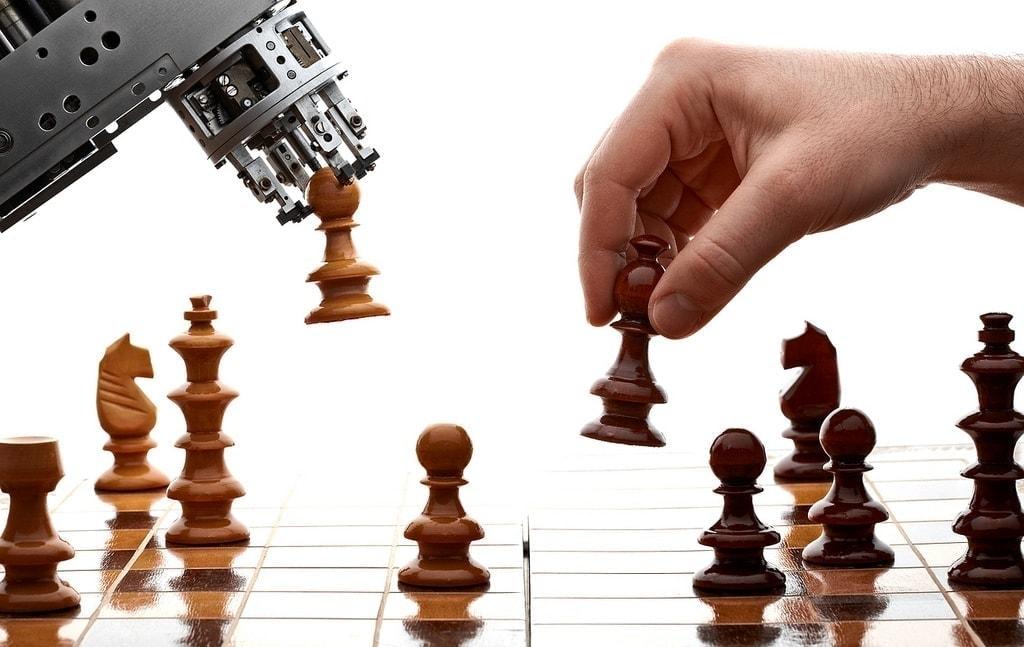 robot humano ajedrez