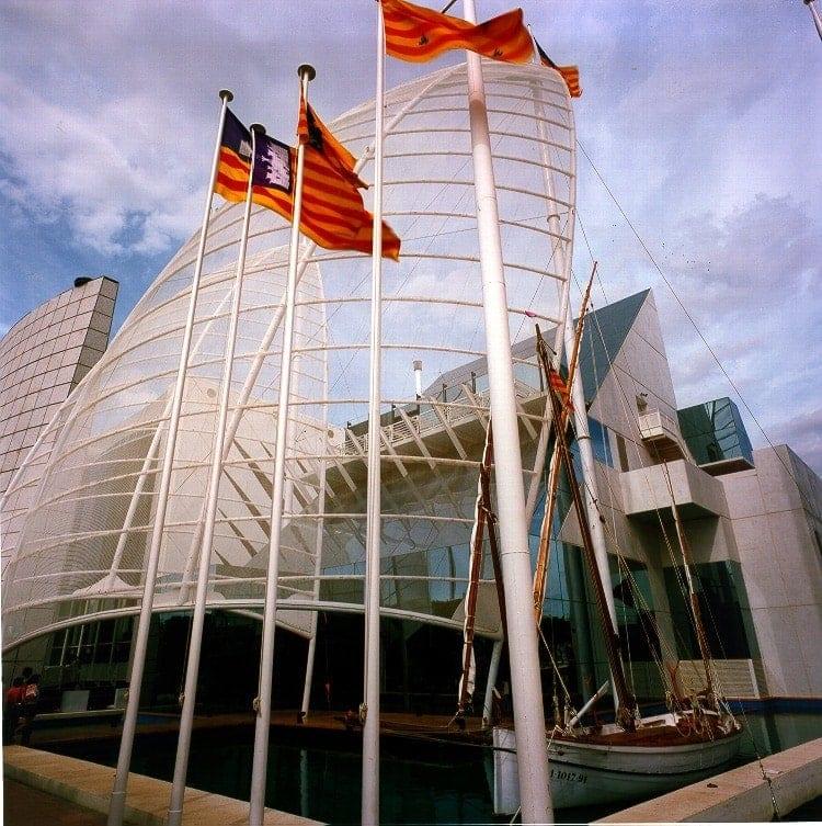 Expo 92 seville balearics pavilion