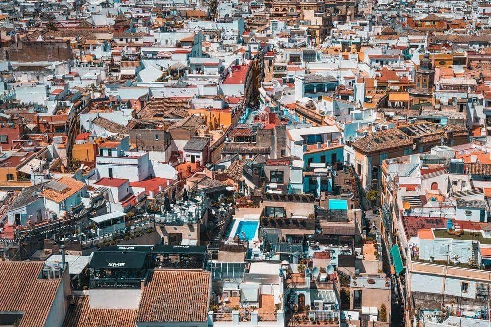Expo 92 de Sevilla vistas ciudad
