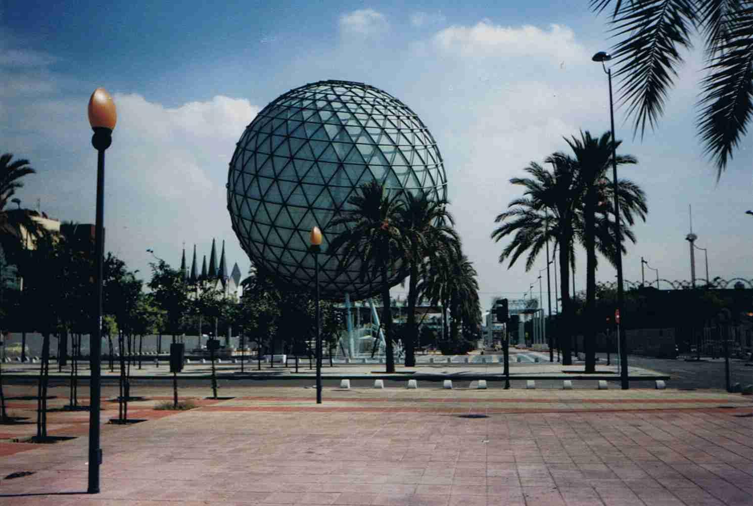 Expo 92 Sevilla Avenida de los Descubrimientos