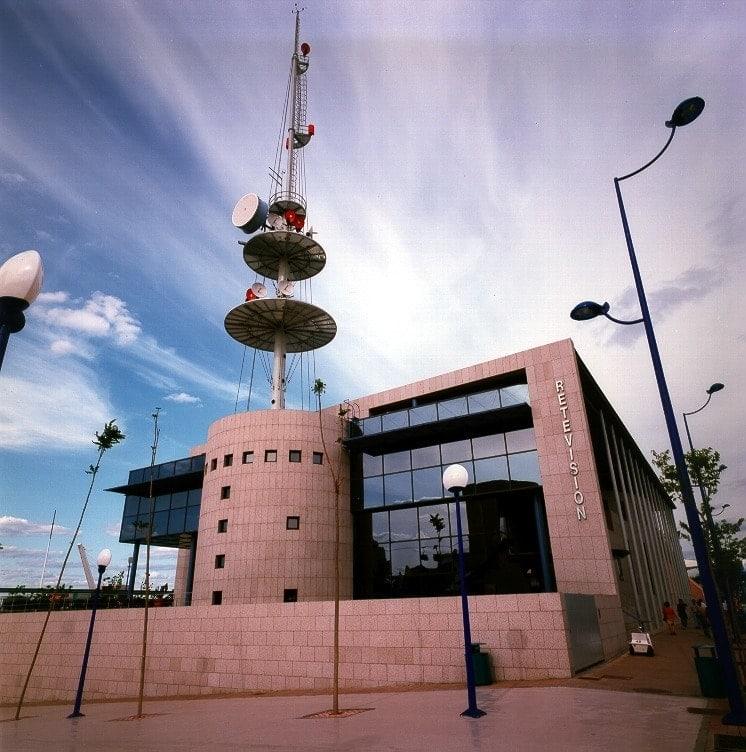 Expo 92 Sevilla Pabellón de Retevisión