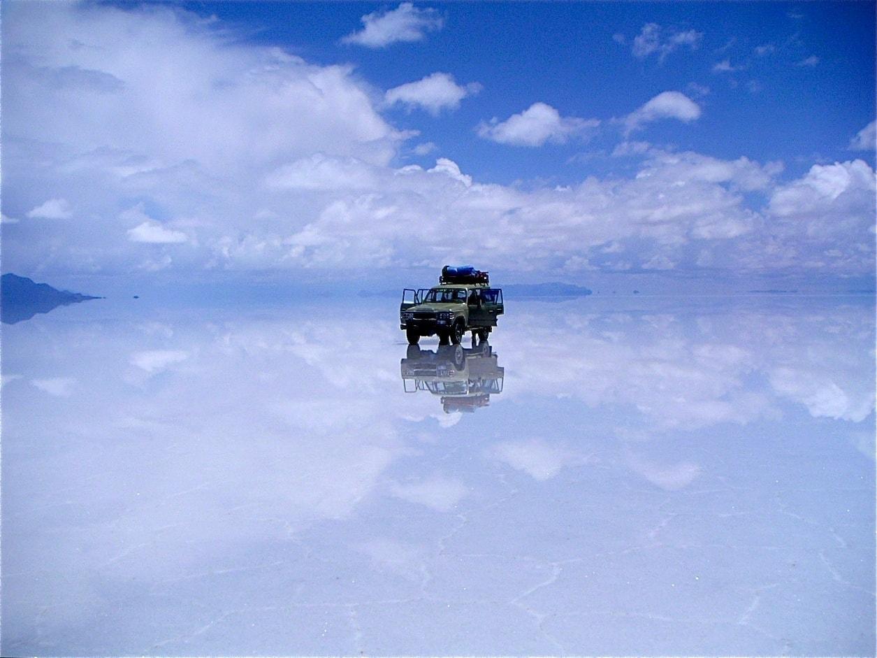 carreteras sin asfaltar Salar de Uyuni