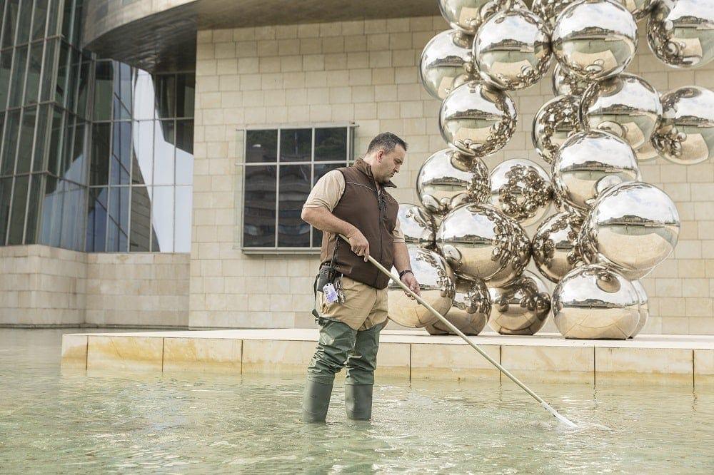 arbol de burbujas museo guggenheim bilbao