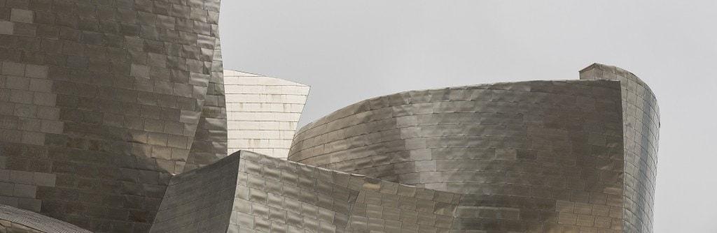 construcción museo guggenheim bilbao