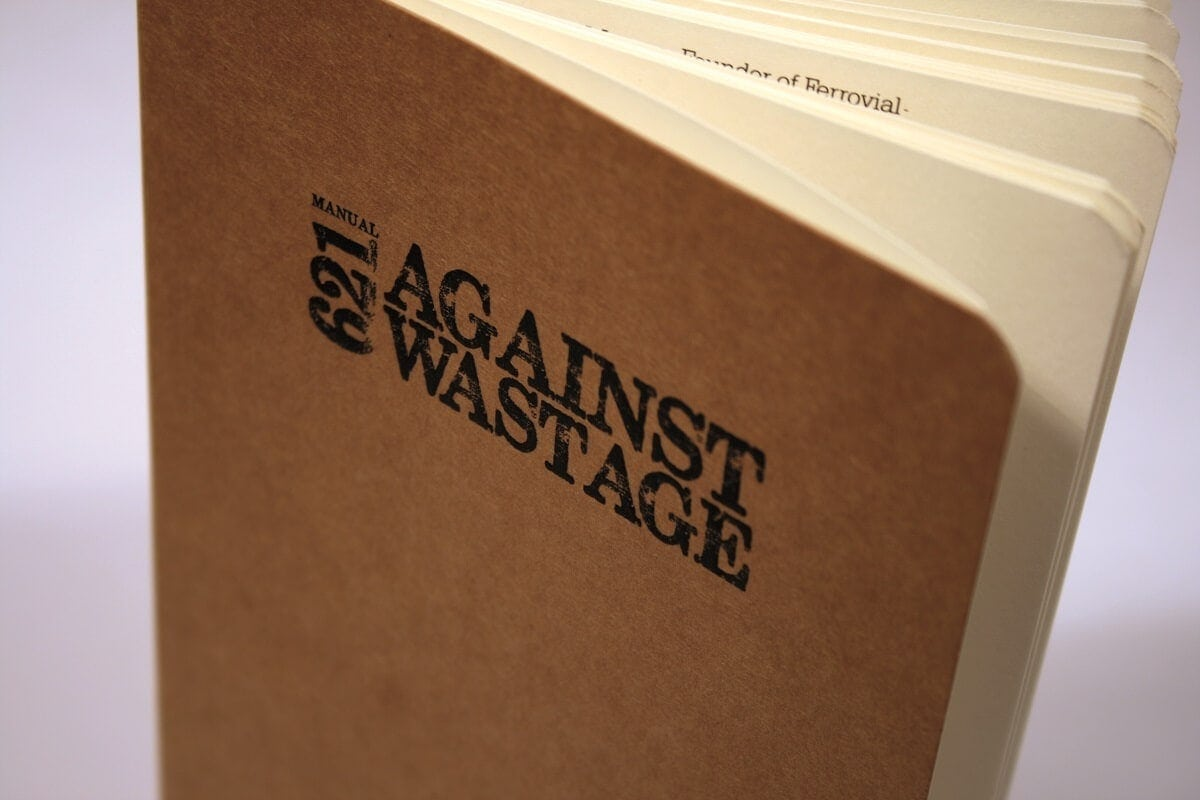 against wastage manual