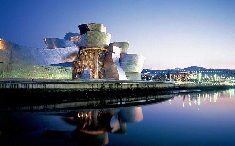 Fachada del museo Guggenheim