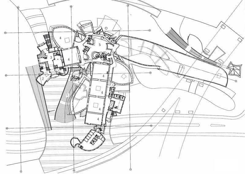 Plano del museo Guggenheim