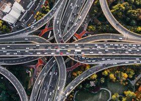 nudo de carreteras