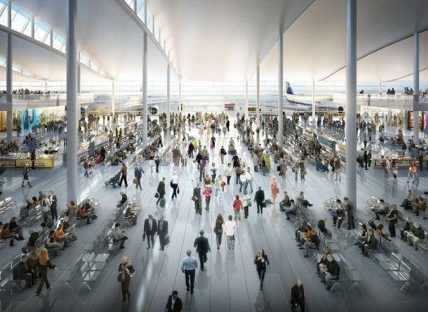 Departure Lounge Heathrow airport