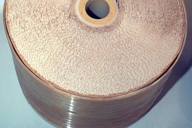 Corte de un tubo usado en desalinización