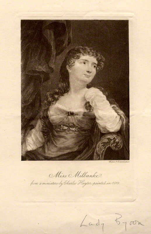Anne Isabella, mother of Ada Byron