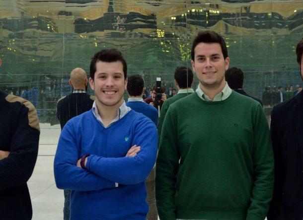 Imagen del equipo de Secmotic, ganadores de Build Up! de Ferrovial