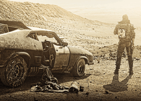 roads and science fiction Mad Max