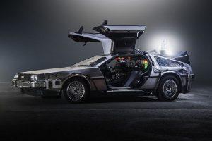 Science Fiction car delorean
