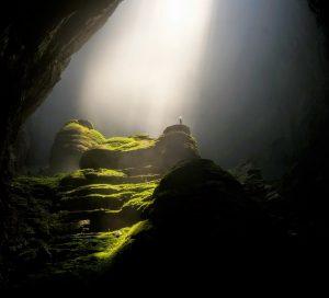 naturaleza bajo tierra cueva