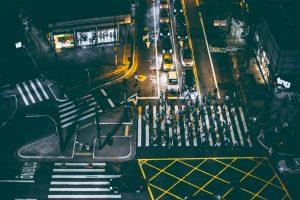 Smart City crosswalk