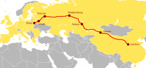 The New Eurasian Land Bridge project / OBOR Europe