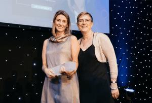 Sara Collado, WICE award 2018