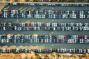 parking spaces cities