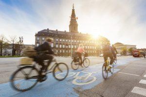 carril bici en las ciudades