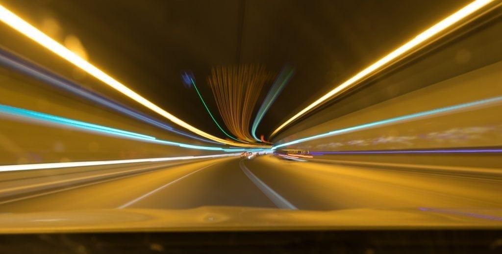 luces autopista 407 etr Canadá