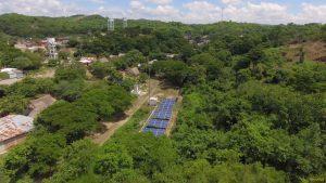 solar panels Ferrovial El Salado