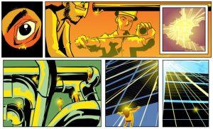 graphic novel adventure entitled El Salado