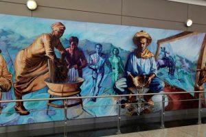 mural aeropuerto de denver