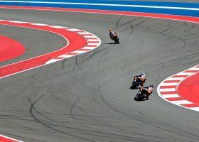 Motorcylce riding on race track