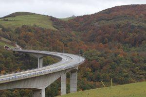 desgaste de túneles y puentes