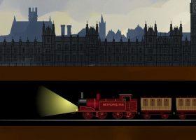 construcción metro de londres antes y ahora