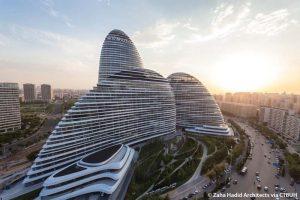 Wangjing SOHO. Zaha Hadid Architects