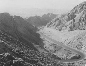 Peru Pan American Highway near Nazca