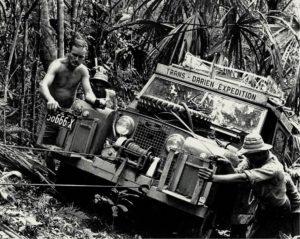 Expedition through the Darién in 1978