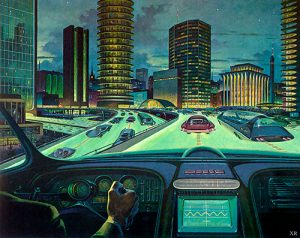 retro-futurism highways