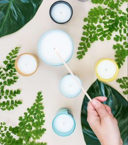 Eco-friendly candles