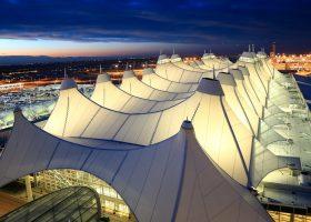 Denver airport Jeppensen terminal
