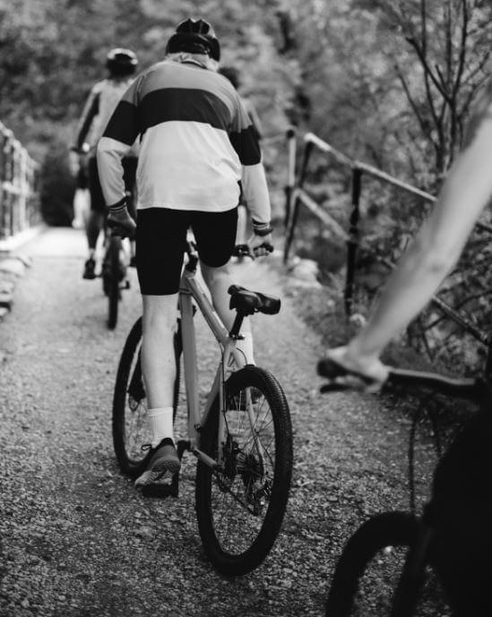 Bici de montaña de asfalto