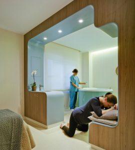 Experiencia de los pacientes según el diseño de las habitaciones de los hospitales