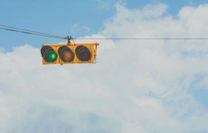 el origen del semáforo