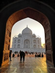 Historia de amor Taj Mahal