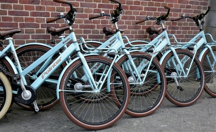1,000 bicycles in Granada.