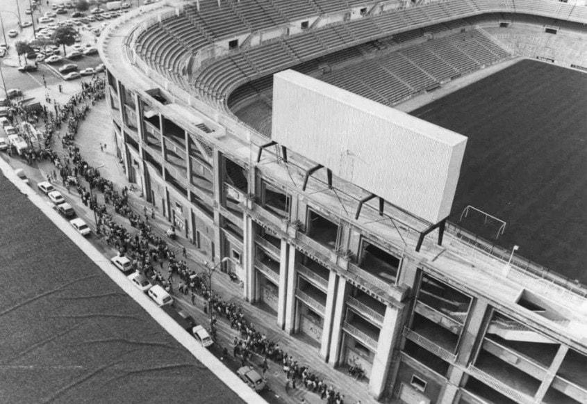 Santiago Bernabéu 70's