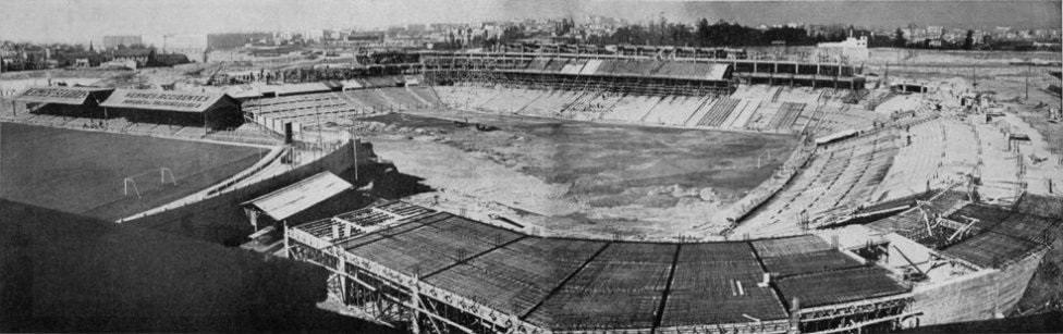 Santiago Bernabéu construction