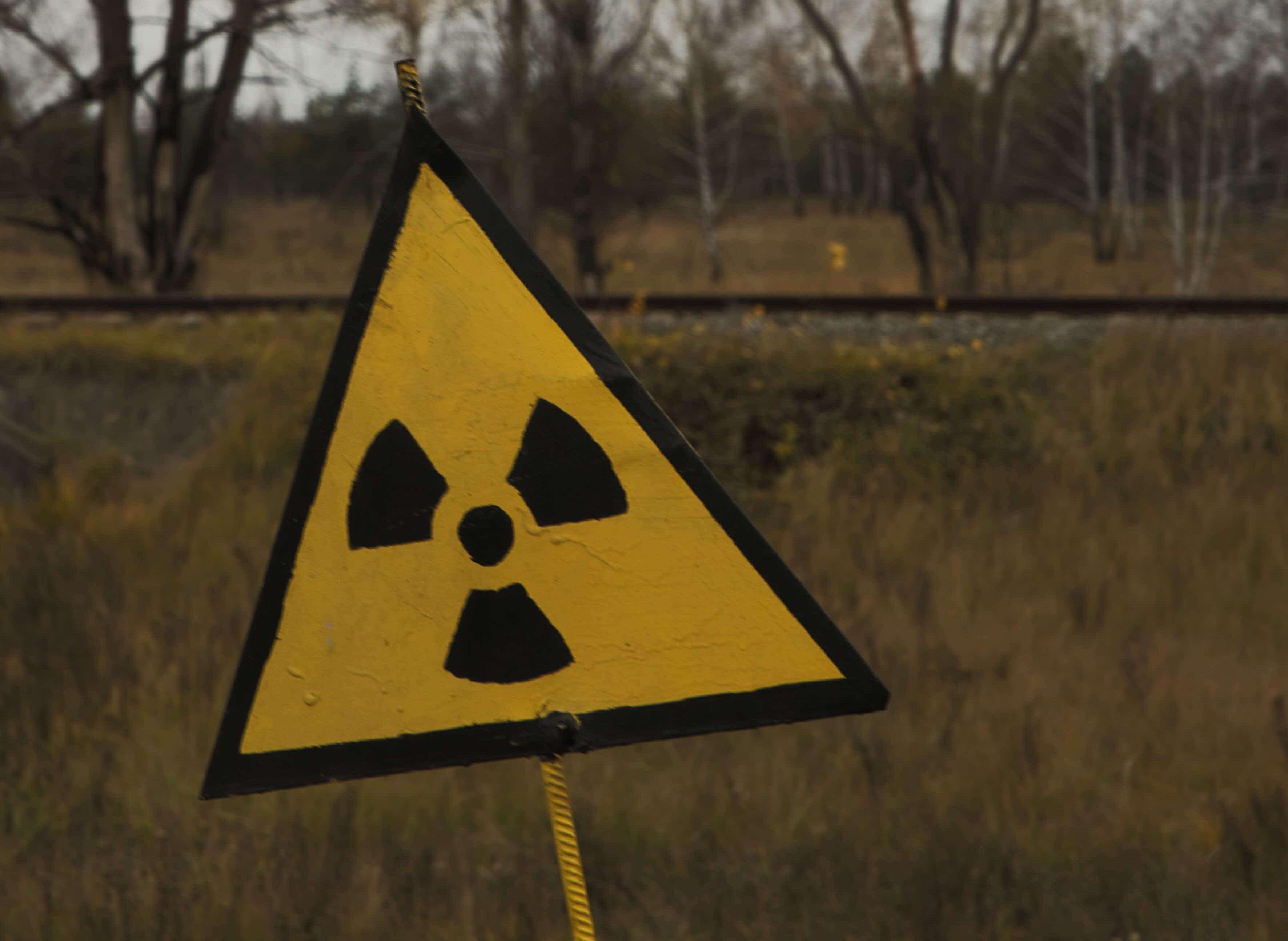 señal de peligro por contaminación