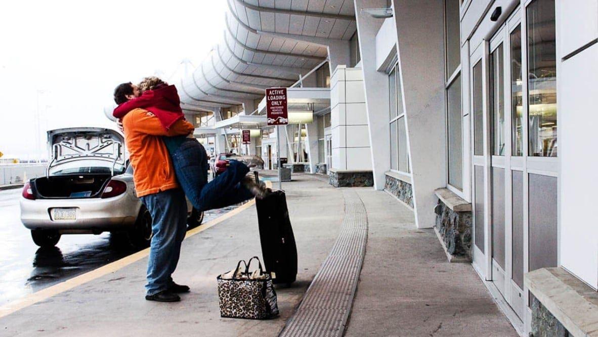 Llegada clientes al aeropuerto