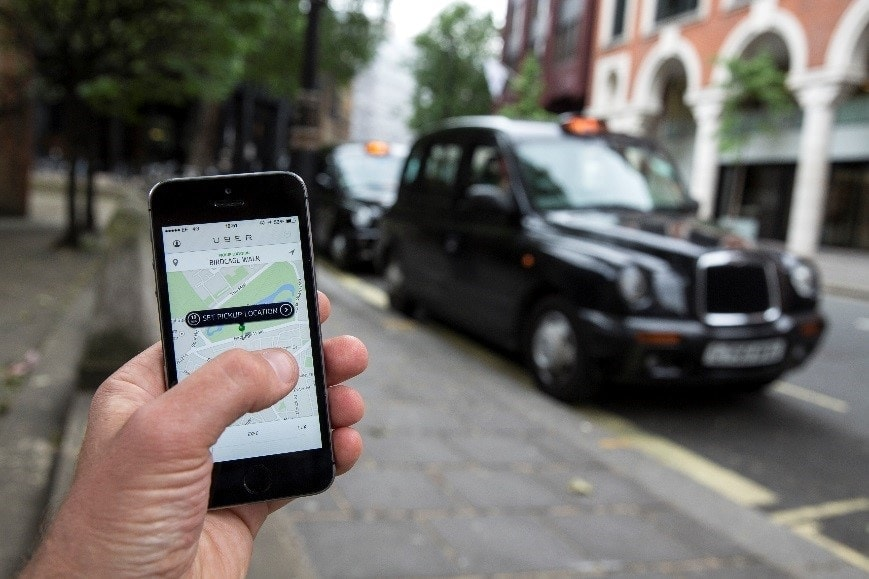 Uber como alternativa al taxi