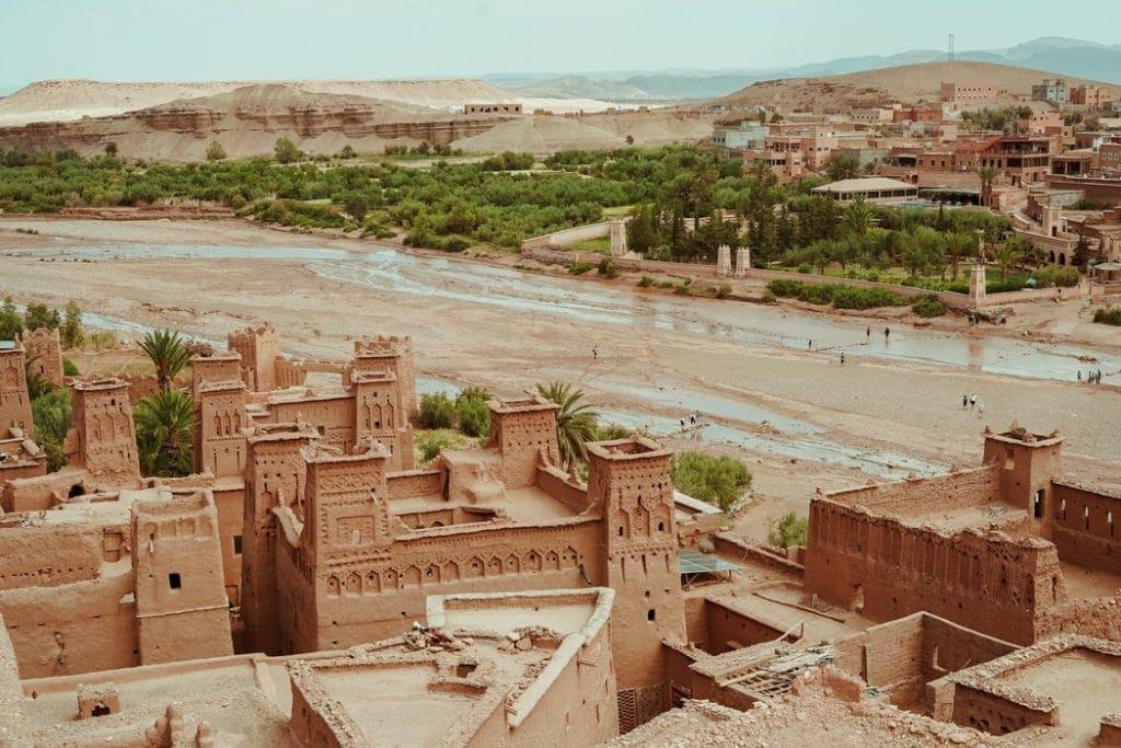 juego de tronos arquitectura desierto