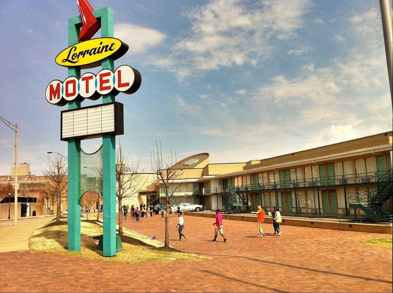 The Lorraine Motel in Memphis, current day.